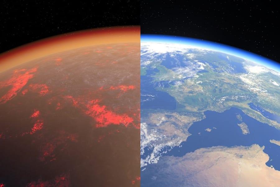 地球の「原始大気」が最古の岩から明らかに、生命がうまれにくい環境だった?!