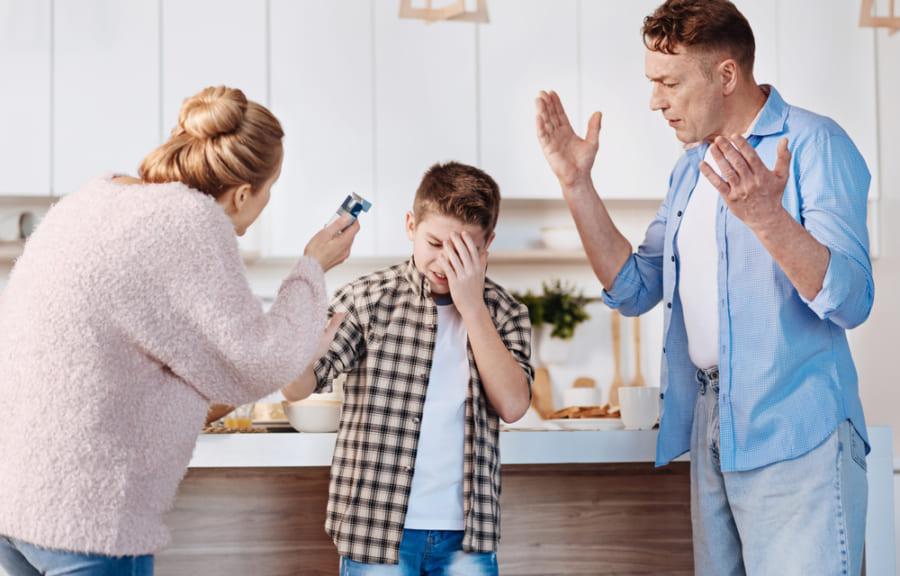 親の「からかい」で感情がコントロールできなくなる