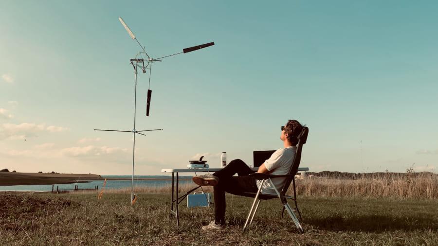 ポータブル風力発電は個人使用を目的としている