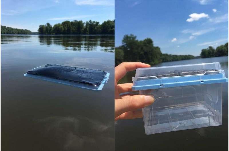 太陽光だけで汚染物質を除去できる浄水フィルター