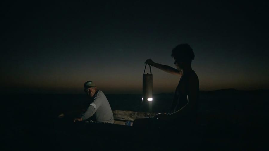 夜間や早朝の漁に活用できる