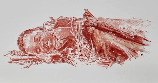 埋葬時のイメージ画