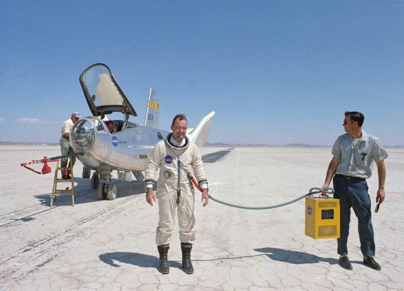 宇宙服50周年を祝ってNASAで特集された初期の与圧服