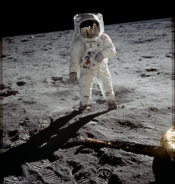 ニール・アームストロングが月面で着用していた宇宙服