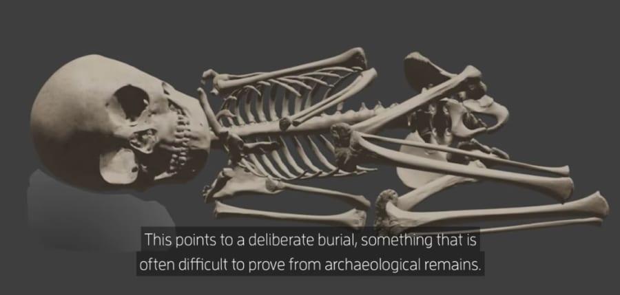 埋葬時のイメージ図