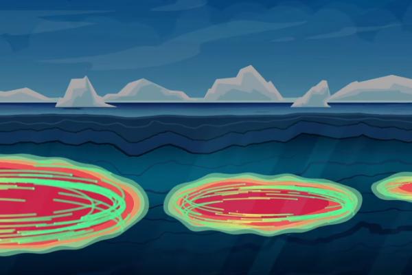 北極海では暖流が「海中熱爆弾」となって氷を溶かしている