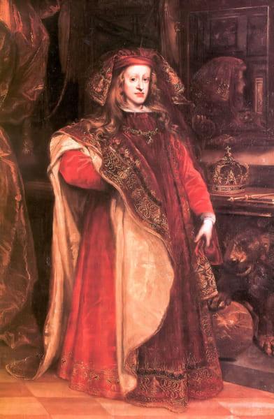 ハプルブルク王朝最後のスペイン王カルロス2世