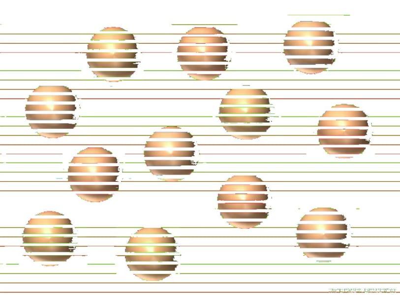 ツイッター上でジョン・シーモア氏が人力でボールに重なる色を頑張って消下画像。確かにボールはすべて同じ色なのがわかる。