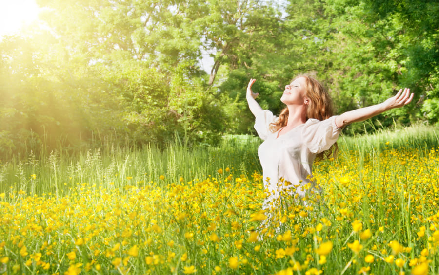 自然と接するなら精神的な良い影響が得られる