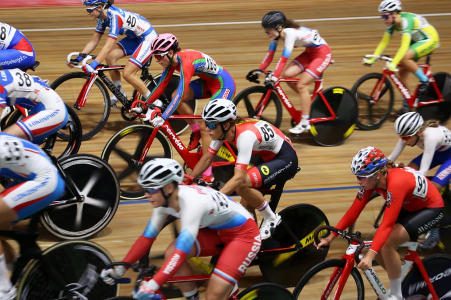 自転車競技「ポイントレース」