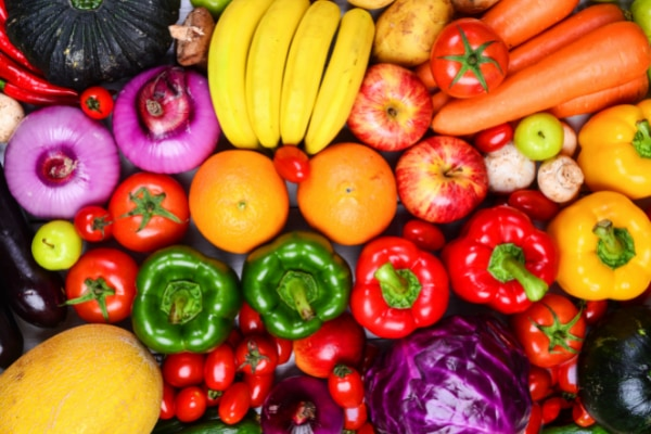 野菜と果物をたくさん食べる人はストレスが少ないと明らかに