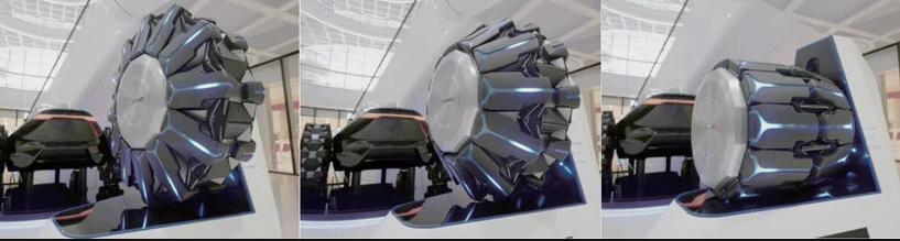 1,000kg の荷重に対応。乗用車に適用可能