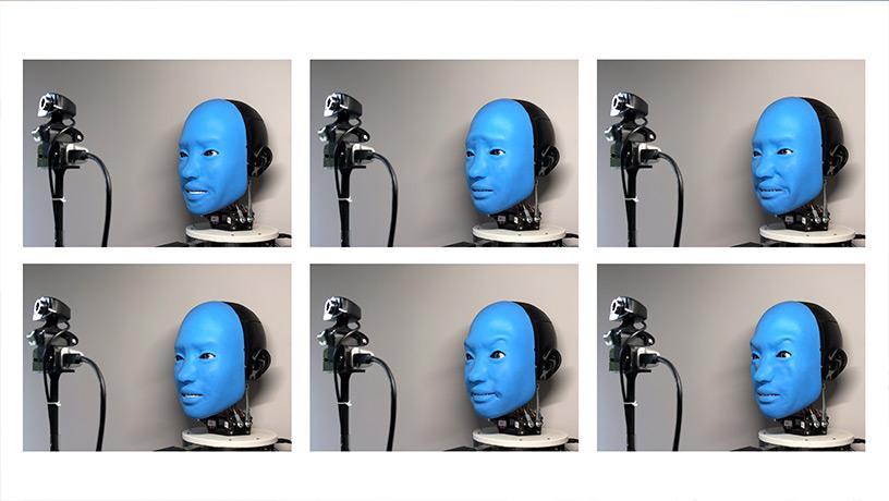 基本的な6つの感情を表現