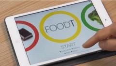 ジャンクフード消費量を減少させるフードTアプリ
