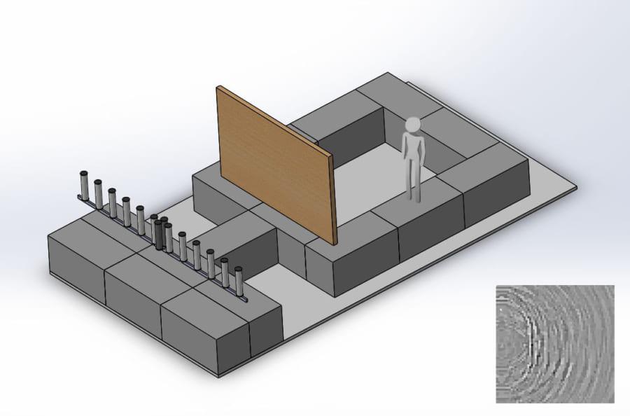 無線信号で壁の向こうを「透視」できる新技術が開発される