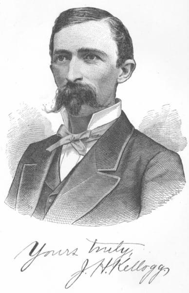 ジョン・ハーヴェイ・ケロッグの肖像