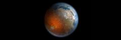 地球の内核は東側に偏って成長しているという
