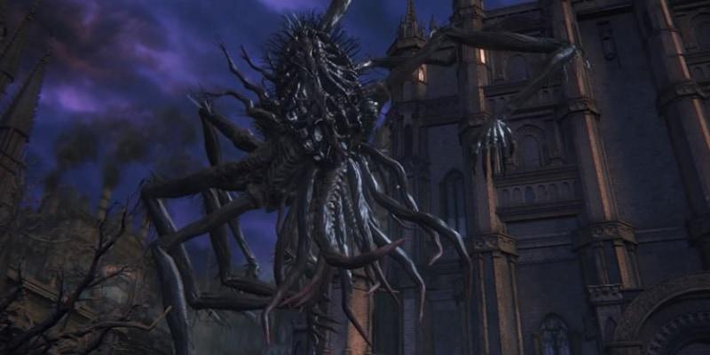 ゲーム「Bloodborne」に登場する扁桃をモチーフにした怪物アメンドーズ