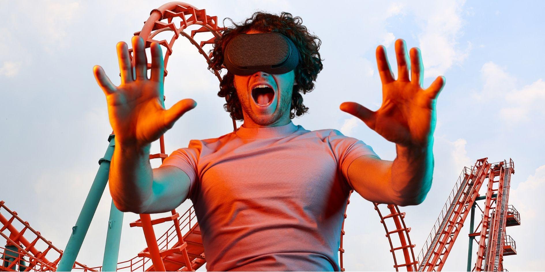 VRジェットコースターに35分間連続で乗った結果「片頭痛」患者が乗り物酔いしやすい理由が判明!