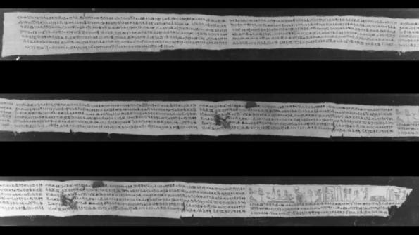 カンタベリー大学所蔵のリネンの断片