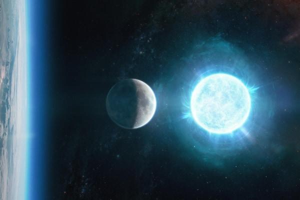月サイズなのに質量は太陽の1.35倍! 史上最小の白色矮星が見つかる