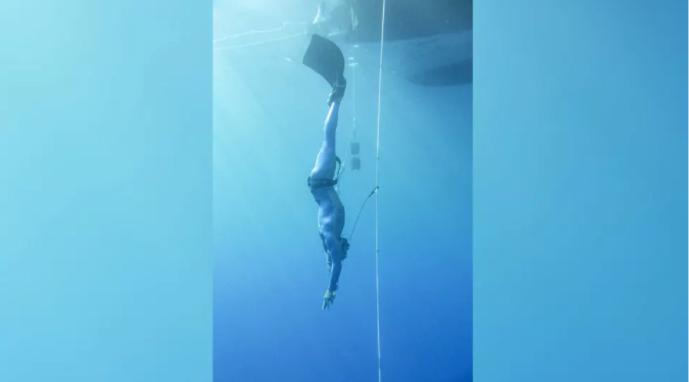 トップダイバーの心拍数が「1分間に11回」を記録!イルカやクジラに匹敵