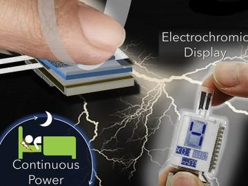 「手汗」で発電する発電機が登場