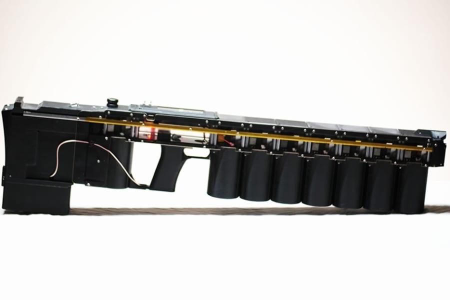 手持ちの「レールガンのような銃」が米国で発売される