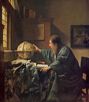 『天文学者』1668年頃、ルーヴル美術館所蔵
