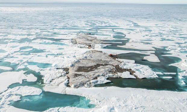 「世界最北端の島」を新たに発見!グリーランド北方で短命な可能性も