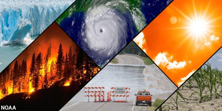気候変動に伴うさまざまな異常気象現象
