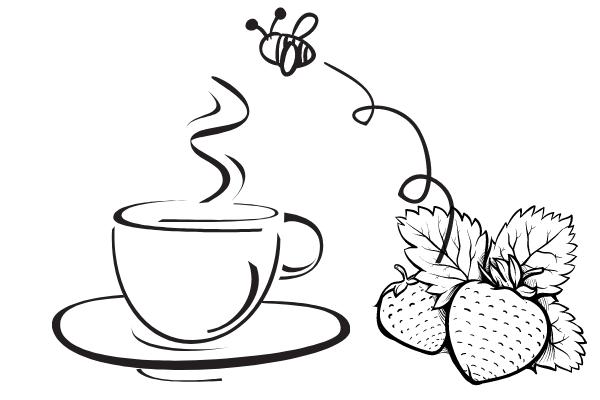 研究者はハチにカフェインを与え、いちごの花の香りを覚えさせてみた