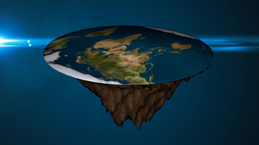 もし地球が平らだったら世界はどうなってしまうのか?