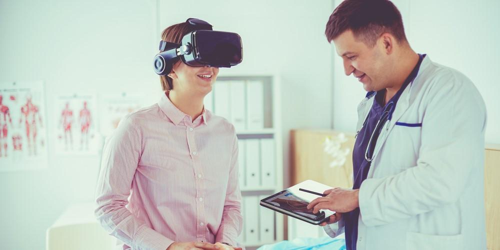VR療法で社会不安症を改善