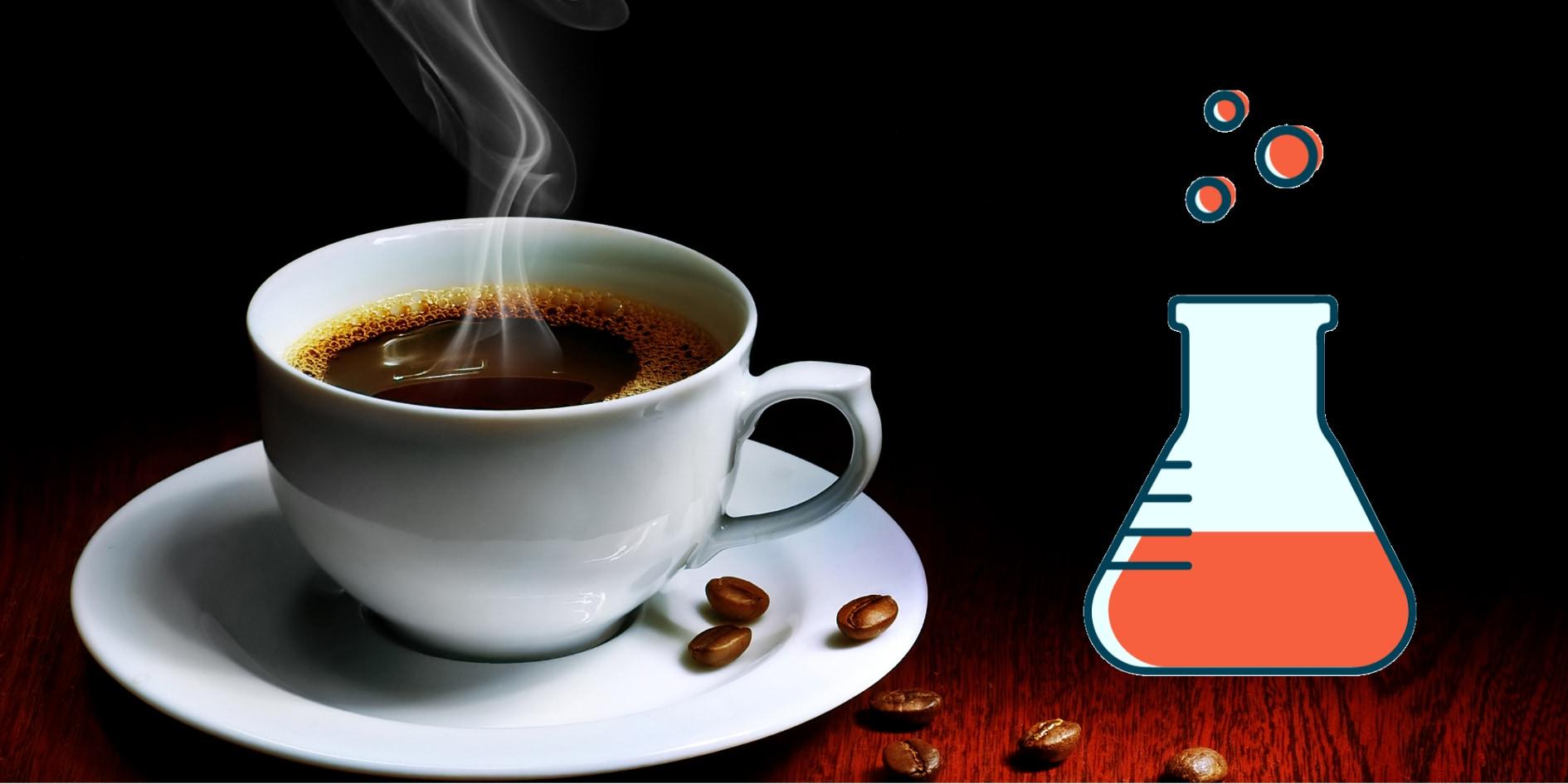 コーヒーに「口当たり」を与える小分子を発見!
