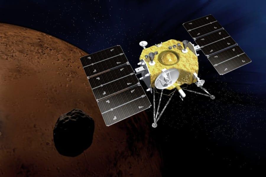 MMX探査機のイメージ(2019年度版)