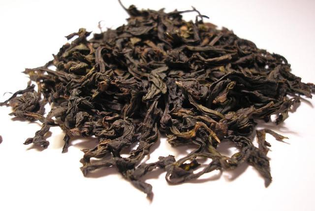 ダーホンパオの茶葉