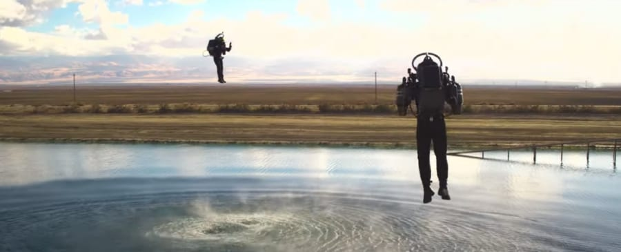 Jetpack Aviation社が開発したジェットパック
