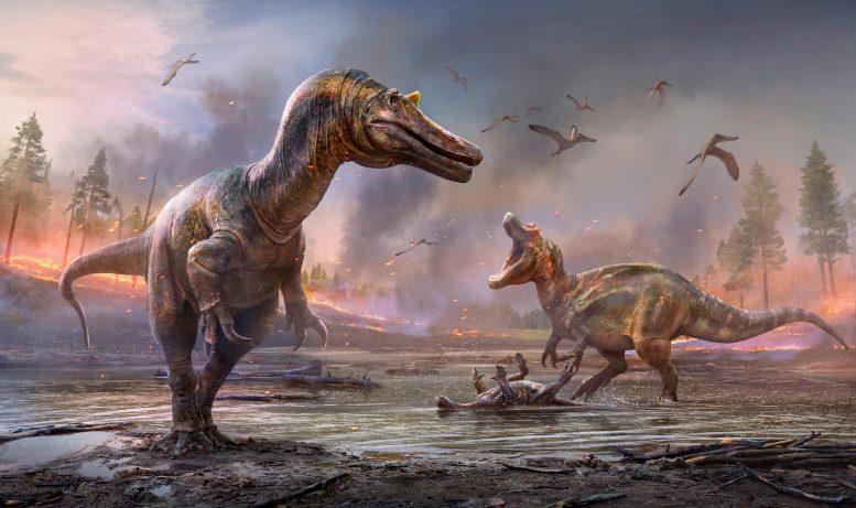 化石の宝庫ワイト島で「スピノサウルス科の新種」を2種同時に発見
