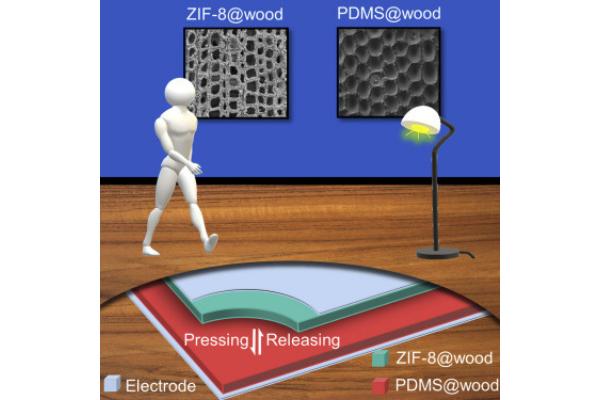 簡単なコーティングだけで歩くと発電できるハイテク木製フローリングが登場