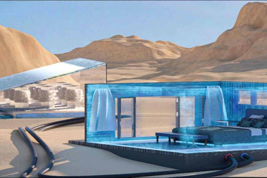 日光と水で動く「電気いらずの冷却装置」を開発