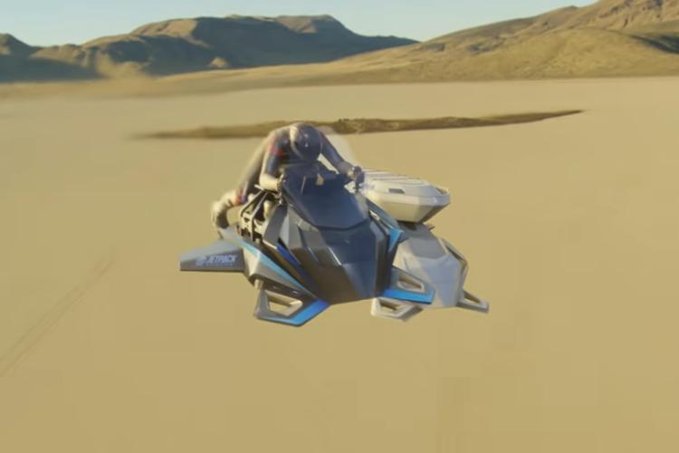 ついに「空飛ぶバイクのプロトタイプ」が完成!2023年発売予定