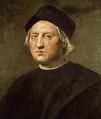 コロンブスの肖像画