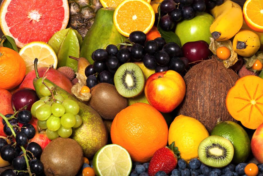 果物は健康寿命にプラスの効果がある