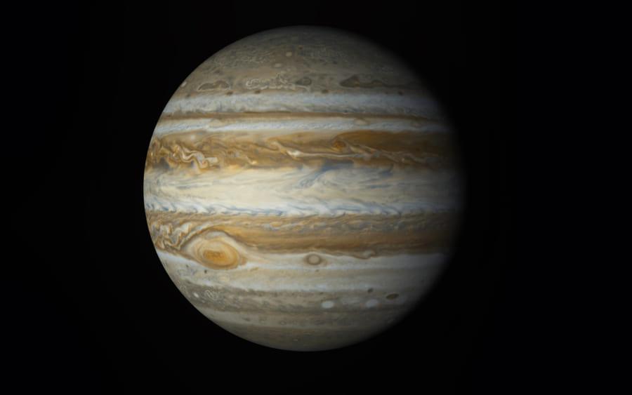 木星の赤い斑点の渦はここ10年で加速していた
