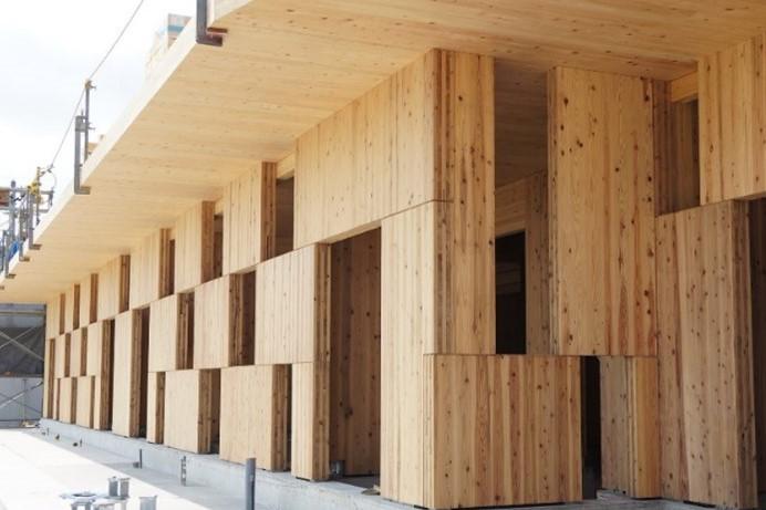 全集中で呼吸する家! 高い耐震性を備えた「市松模様の壁」が開発される