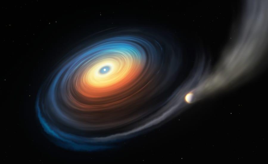 史上最速「25秒で一回転する白色矮星」が見つかる