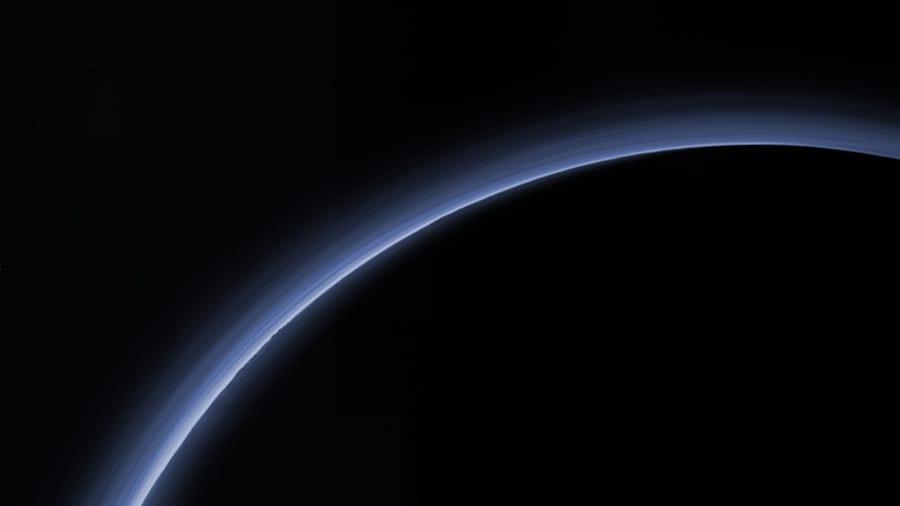 2018年8月15日に本研究チームが撮影した冥王星の掩蔽現象。