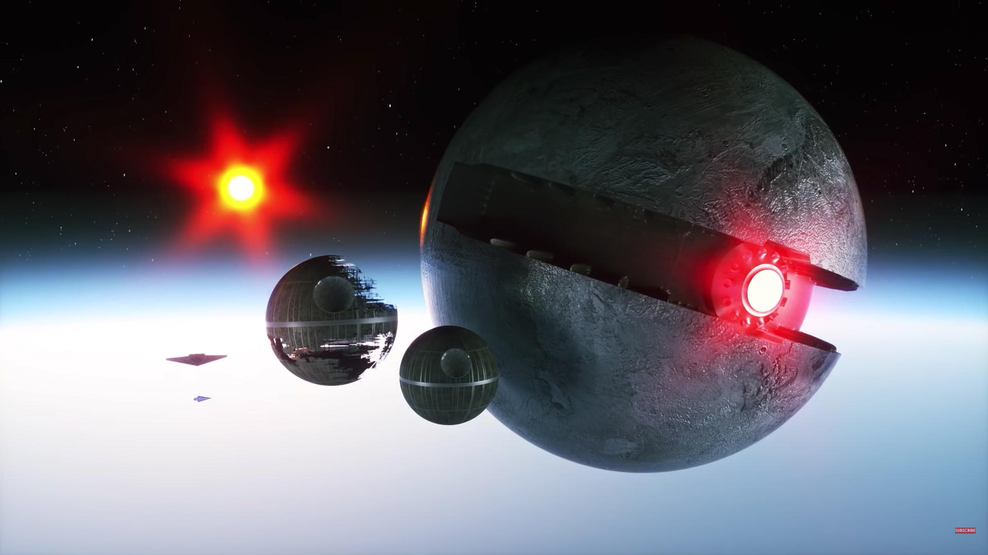 デス スター小さっ リアルで スター ウォーズ に登場する宇宙船を比較すると意外な結果にの画像 10 11 ナゾロジー