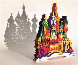 影とパズルの幻想世界にうっとり…「アートパズル展」が浜田市世界こども美術館で開催